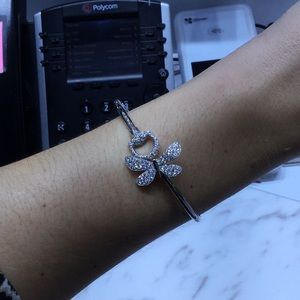 Diamond and white gold GUCCI bracelet